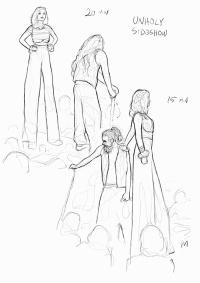 Sketch Night at Society of Illustrators, New York. 15-20 minutter iPad Pro (Procreate)